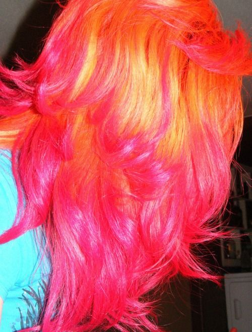 Awesome Sherbet Hair Colors The Haircut Web