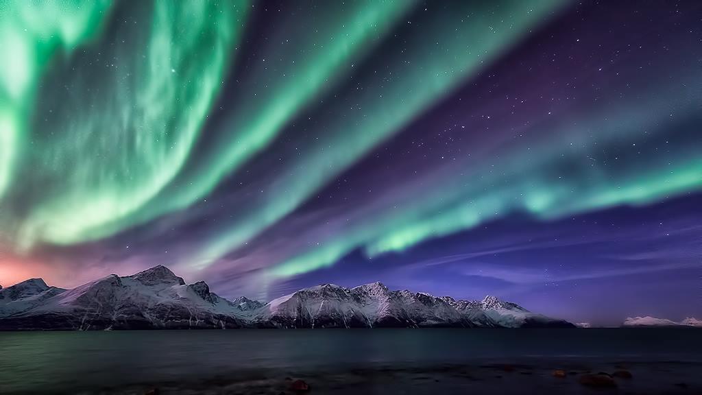 Spectacular Aurora Borelis