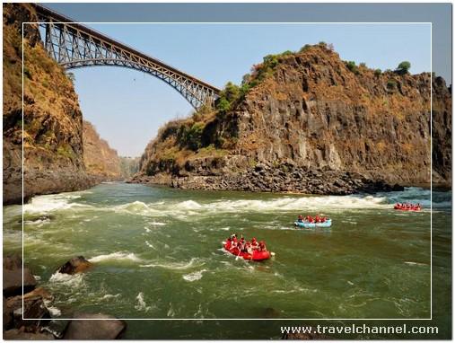 Zambezi Rafting River, Zambia - 10 Amazing Best Place to Travel and Escape World