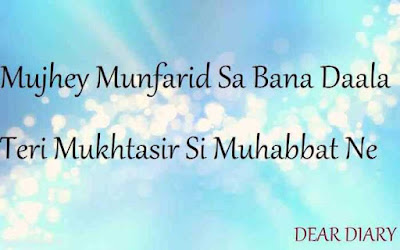 dear diary urdu poetry, love quotes, thoughts and silent words 12