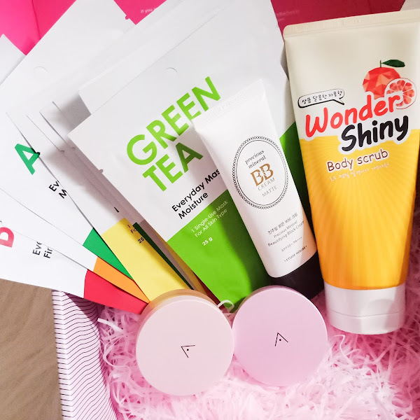 Unboxing latest Althea Korea Haul