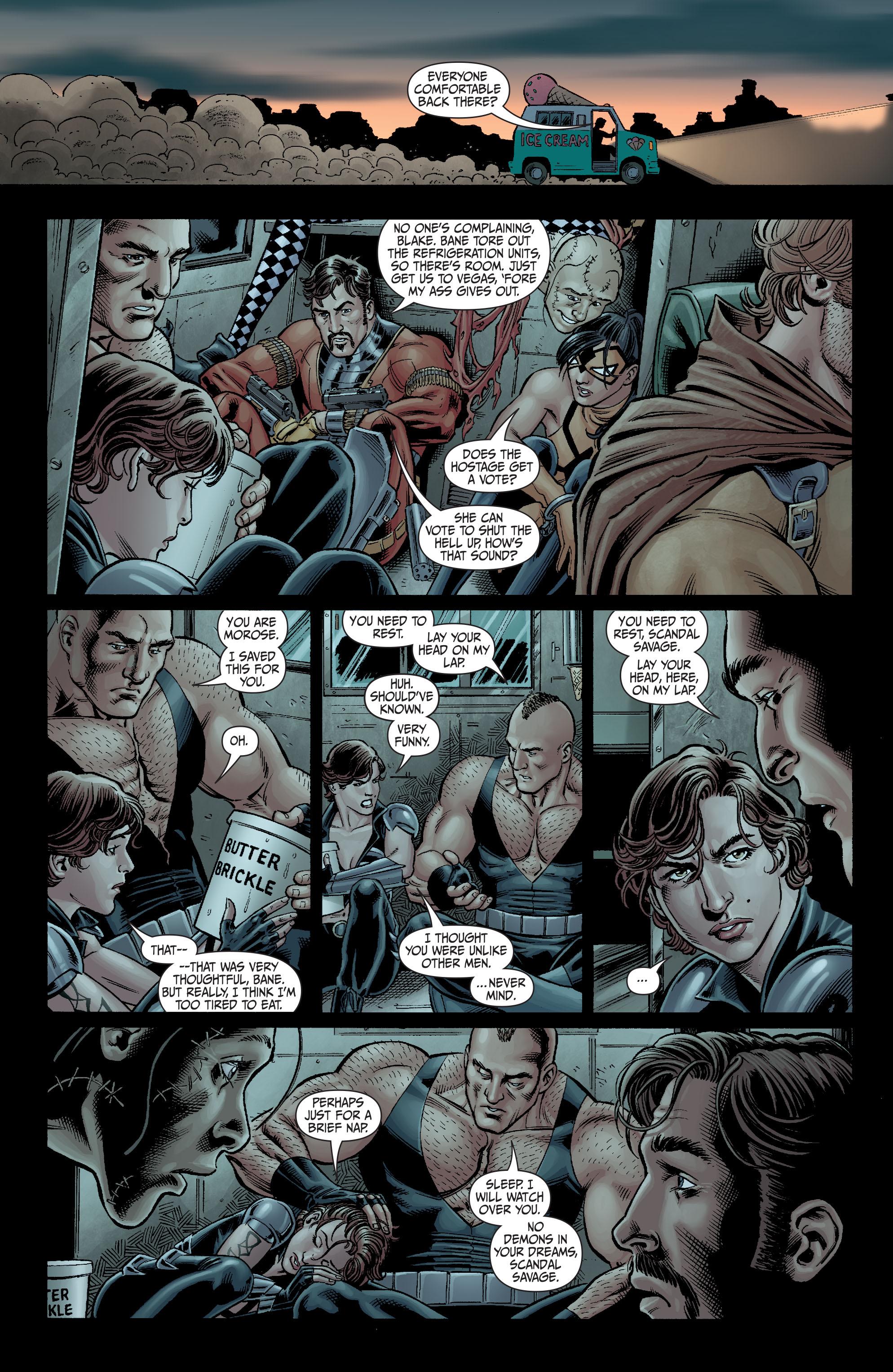 Read online Secret Six (2008) comic -  Issue #4 - 10