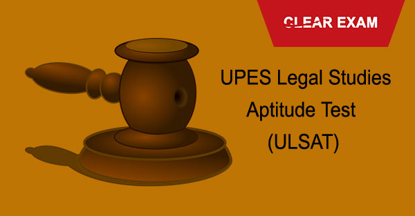 UPES Legal Studies Aptitude Test