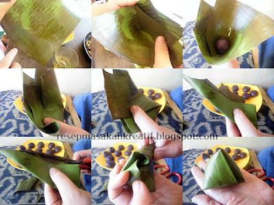 Kue bugis ketan yaitu salah satu resep aneka camilan anggun berair kukus yang terbuat dari olahan tep Resep Kue Bugis Ketan Hitam Isi Unti Pas Manis Legitnya