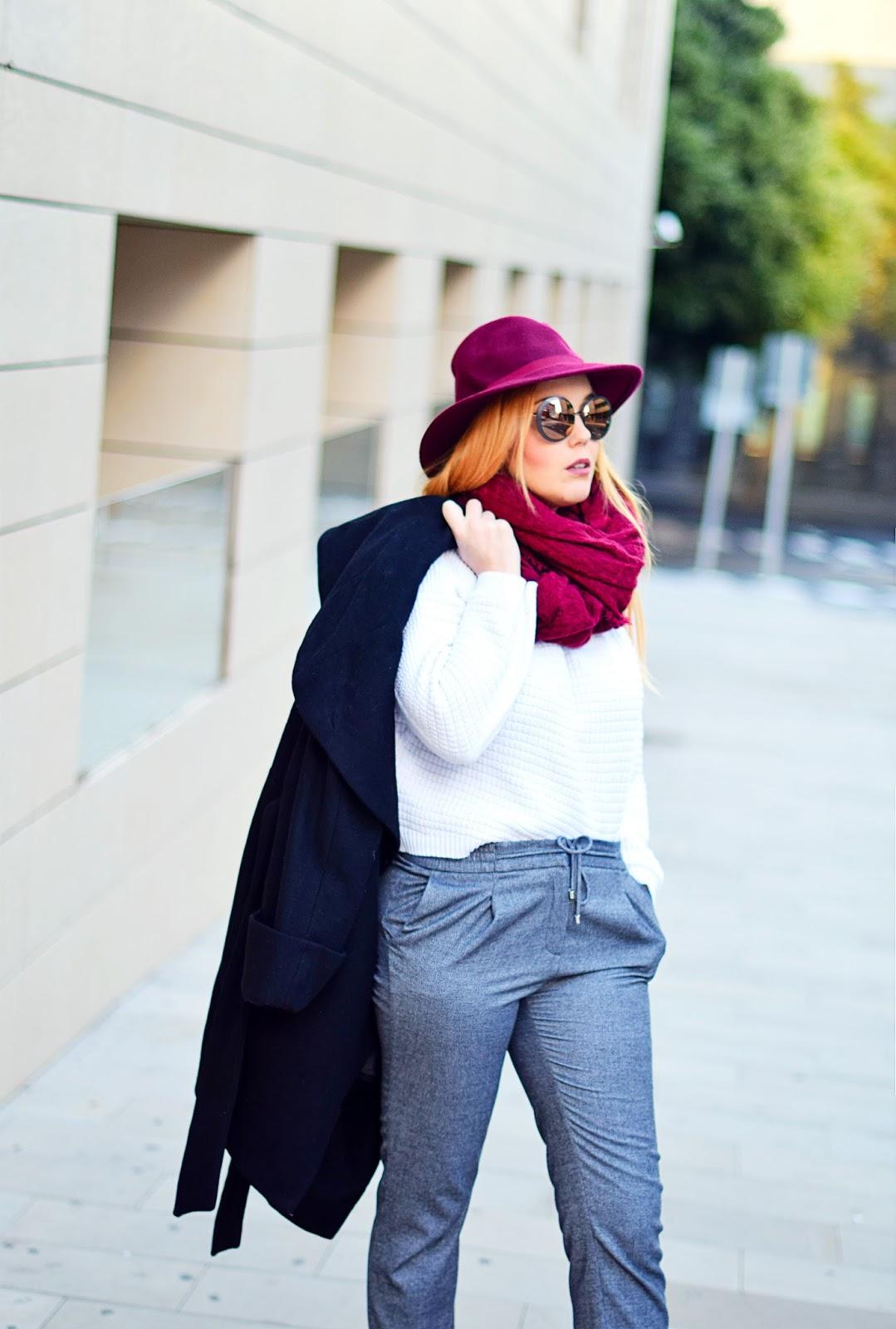 nery hdez, winter look, carolina boix, emporio armani, jogger, opticalh, botas terciopelo