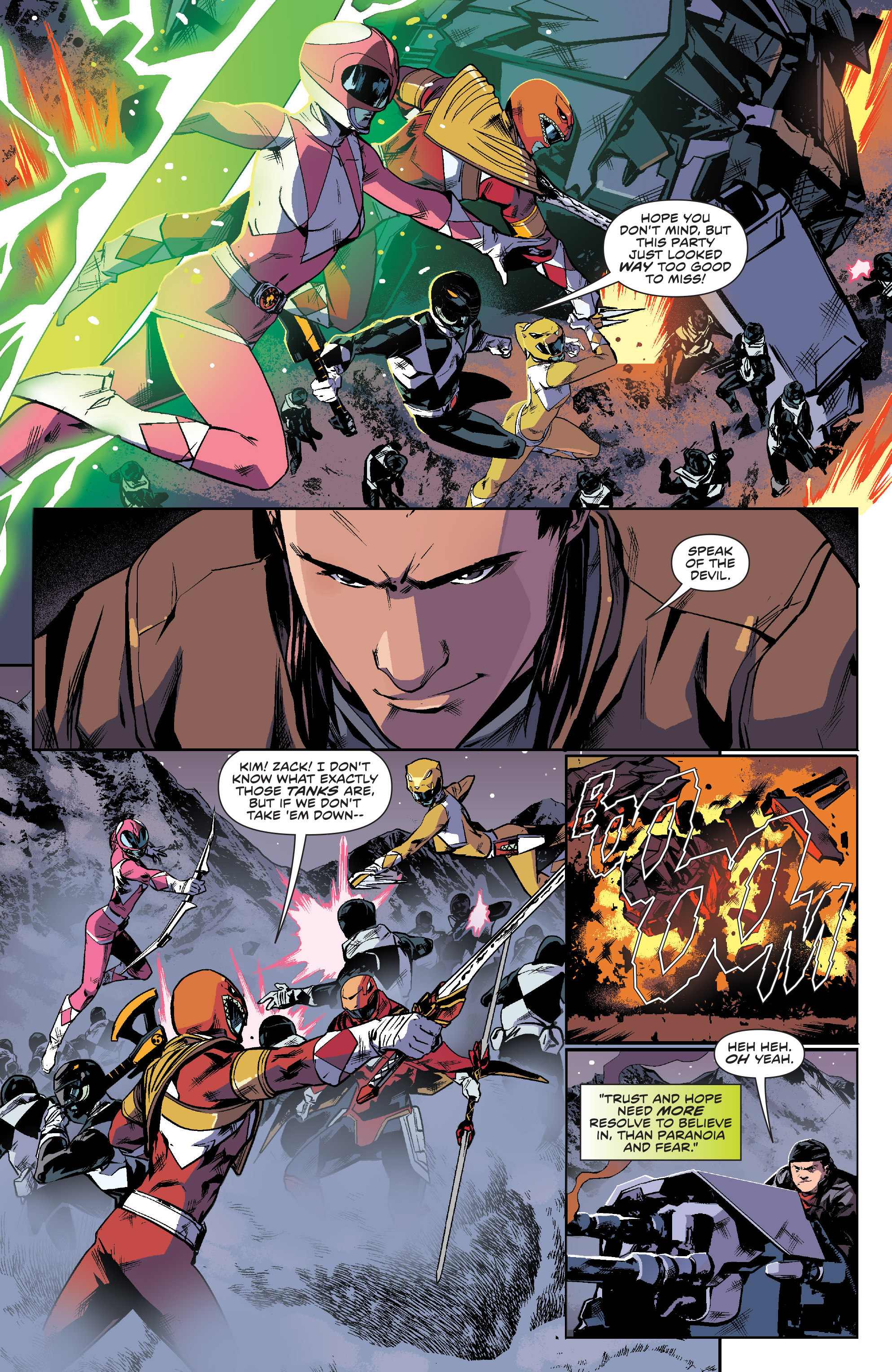 Read online Mighty Morphin Power Rangers comic -  Issue #16 - 14