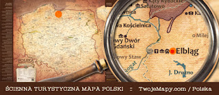 Turystyczna Mapa Polski