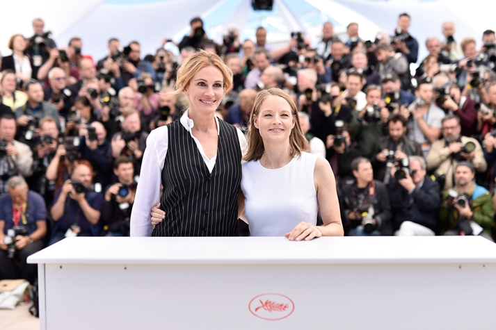 Julia Roberts y Jodie Foster en Cannes