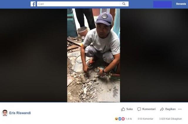 Viral!! Percakapan Ngakak Pekerja Bangunan Dengan Bule, Pluk, Pluk, Pluk, Water Here
