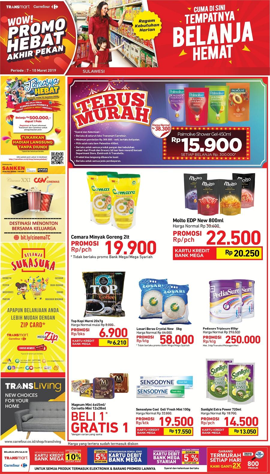 #Transmart #Carrefour - #Promo #Katalog Akhir Pekan Periode 07 - 10 Maret 2019