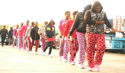 15 Nigerian Ladies Return From Libya With Pregnancies