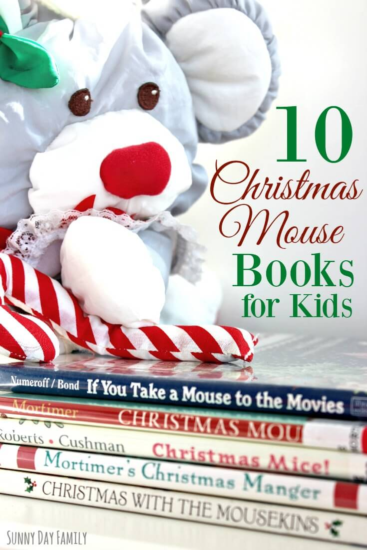 10 Christmas Mouse Books for Kids! Find old favorites and some new Christmas books for kids featuring mouse characters. Your kids will love these!