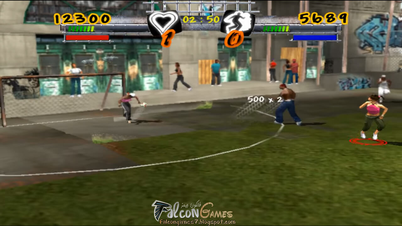 لعبة كرة الشوارع
