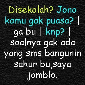 Kata-kata Lucu DP BBM Gokil Puasa Ramadhan