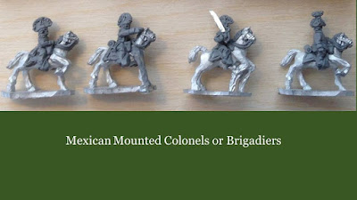 Mexican Mounted Colonels or Brigadiers