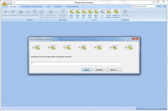 neo 2.0 - IE Tester: Emulador Internet Explorer - 2