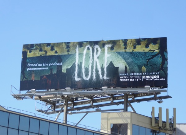 Lore series premiere billboard