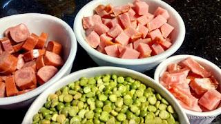 Sopa de Ervilhas - Ingredientes