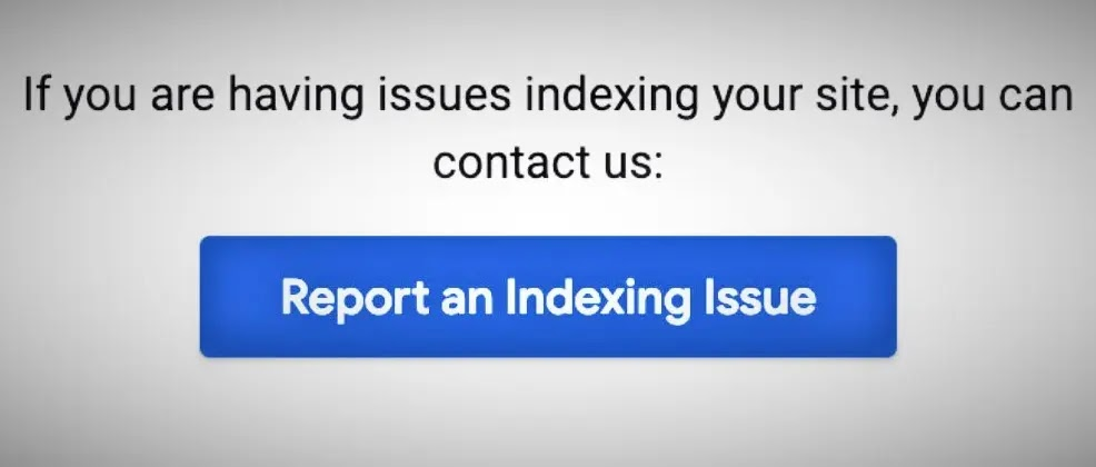 Report Indexing Issues in Google Search Console