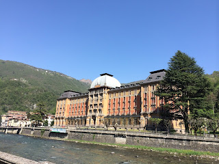 The Grand Hotel in San Pellegrino Terme opened in  1904 with 250 luxury guest rooms