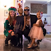 Photos of Flavour with his daughters as they partied at the US Consular General's House