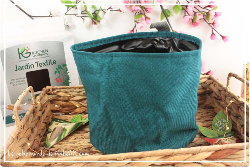 Pots textiles et géotextiles