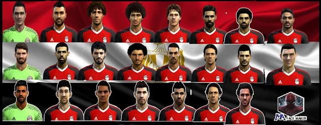 PES 2013 Egypt NT Facepack 2017