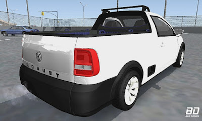 Download mod pickup VW Saveiro G7 Robust para GTA San Andreas, GTA SA Jogo PC