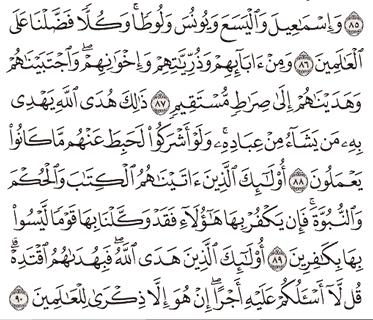 Tafsir Surat Al-An'am Ayat 86, 87, 88, 89, 90