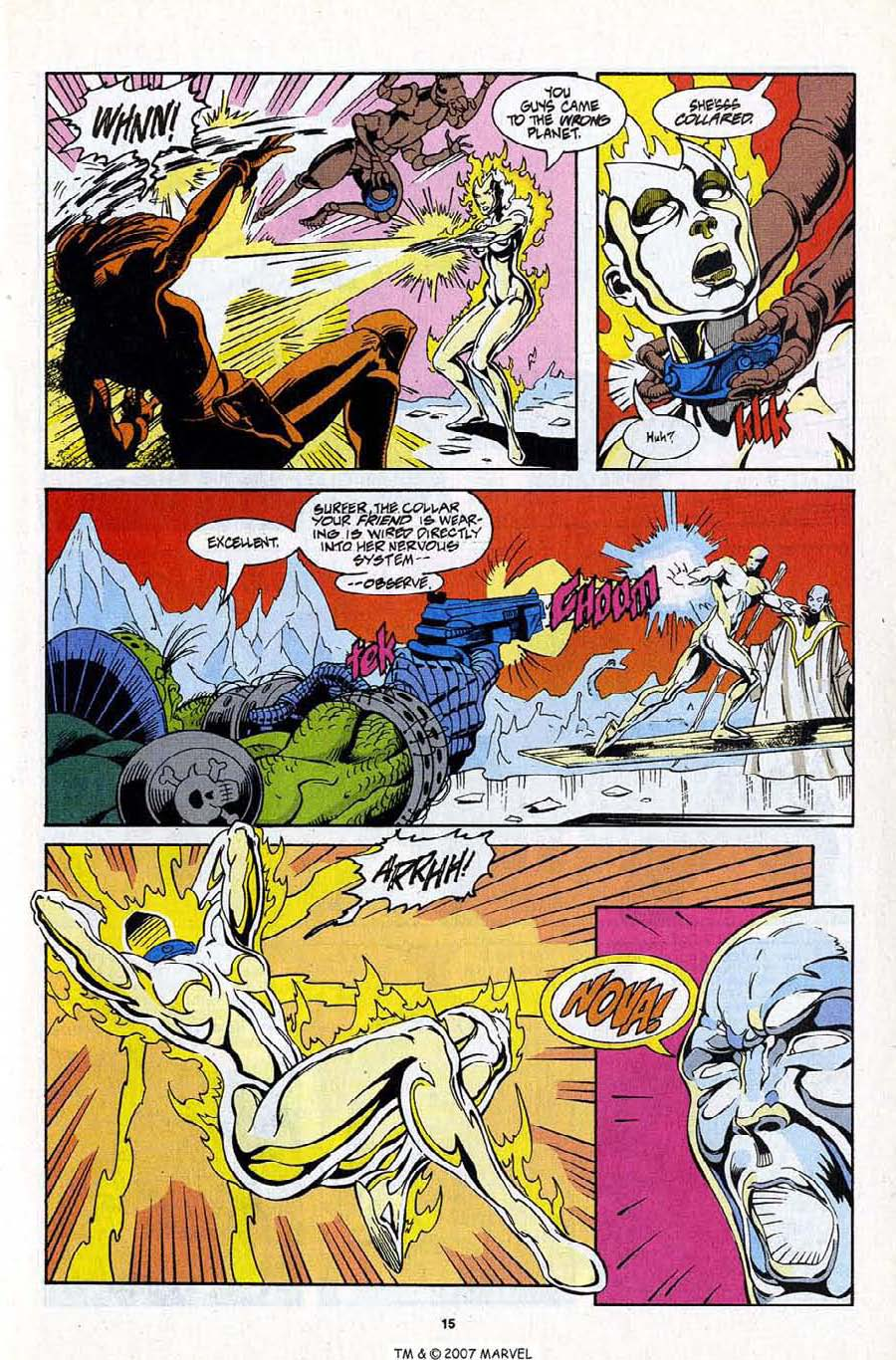 Read online Silver Surfer (1987) comic -  Issue #99 - 17