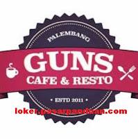 lowongan kerja Palembang terbaru Guns Cafe & Resto Februari 2019 (3 Posisi)