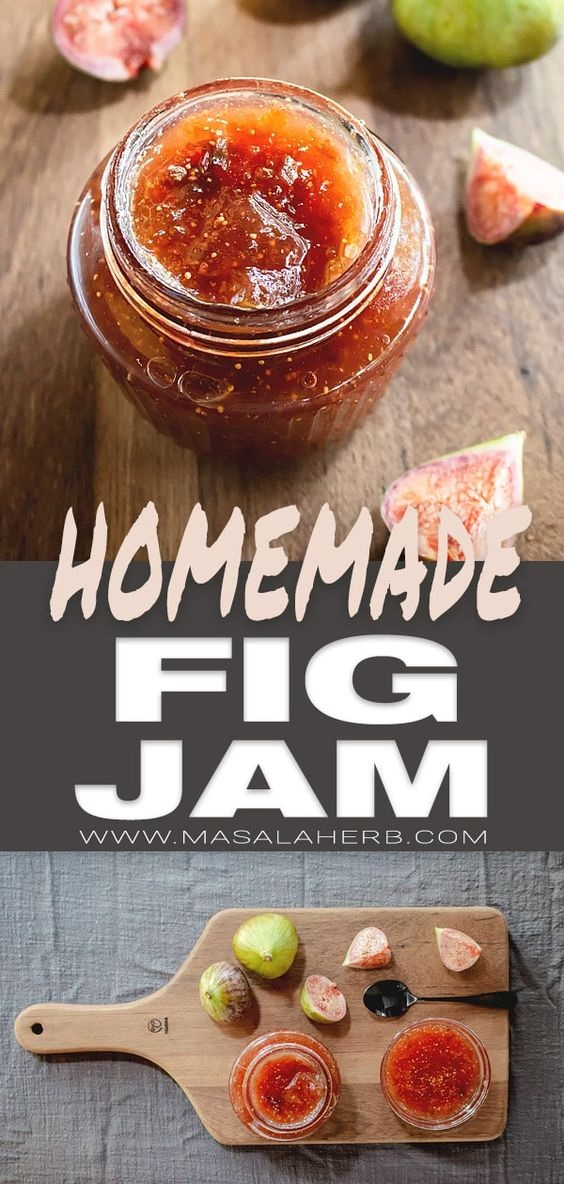 Fig Jam Recipe – How to make Fig Jam