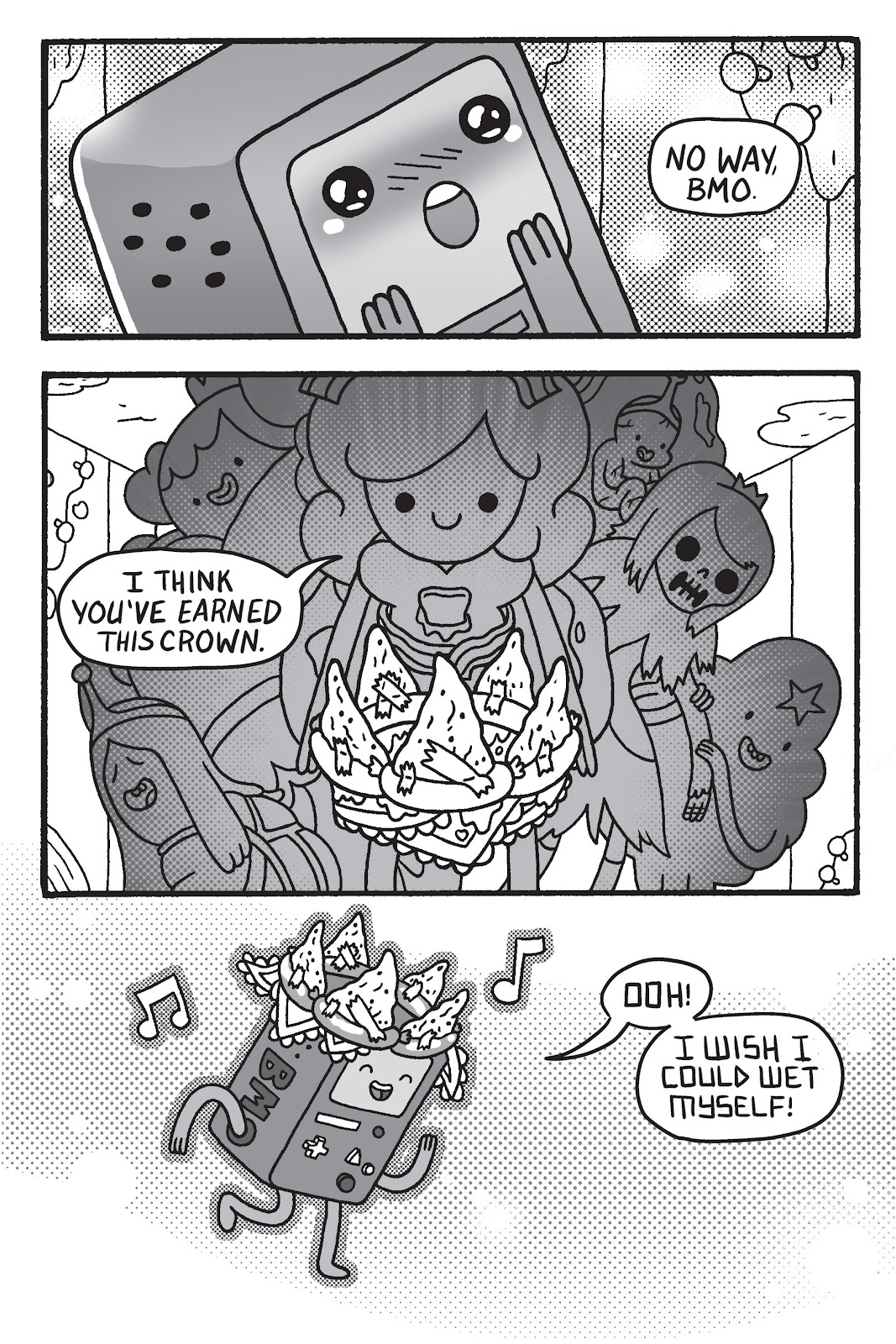 Read online Adventure Time: Pixel Princesses comic -  Issue # Full - 148
