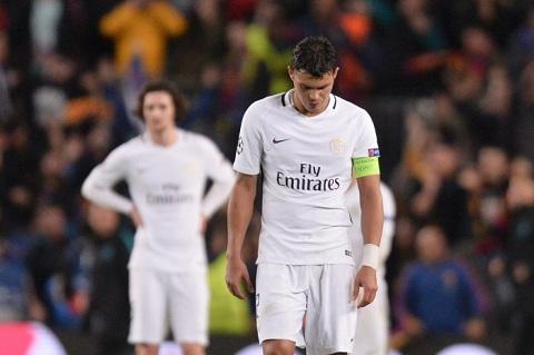 Thiago Silva là thủ quân tệ nhất