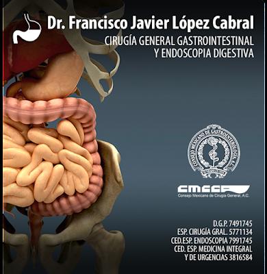 Dr. Francisco Javier López cabral Gastroenterología Guadalajara