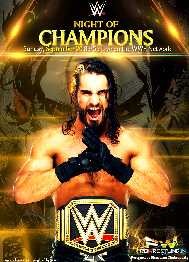 WWE Night of Champions (2015) Full Show Download In 300MB , 3GP