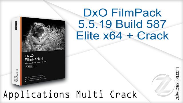 DxO FilmPack 5.5.19 Build 587 Elite x64 + Crack