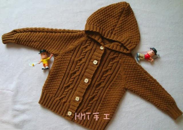 Cách đan áo len cho bé trai