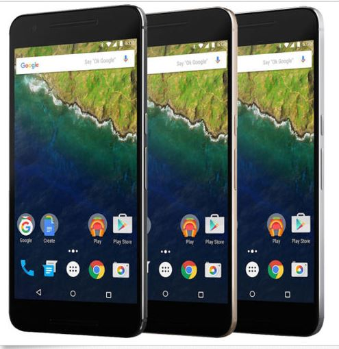 New Huawei Google Nexus 6P Factory Unlocked 32GB Android 12.3MP Smartphone