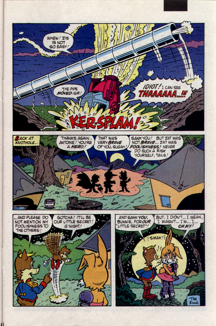 Read online Sonic The Hedgehog comic -  Issue #23 - 26