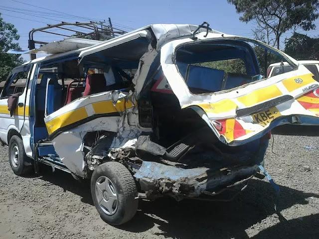Nakuru-Eldoret Highway Accident: At Least 7 Perish After Matatu & Lorry Collide