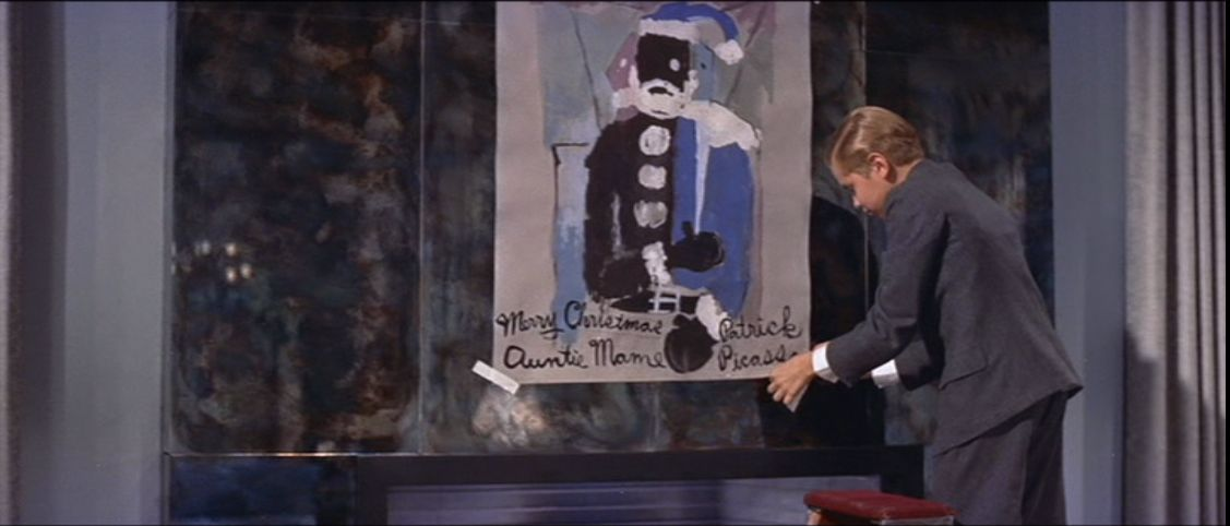 Image result for painting of santa from auntie mame