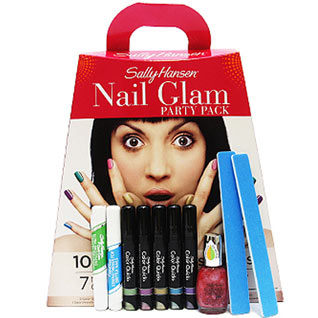Sally Hansen Nail Glam Party Pack, TJ Hughes