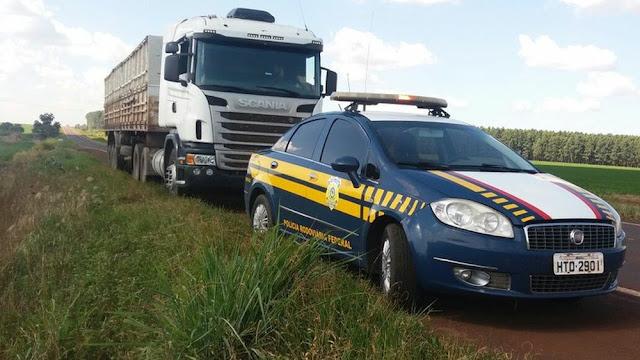 Homem que levava carreta para a fronteira de MS com o Paraguai é preso por suspeita de golpe do seguro