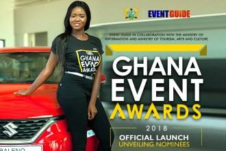 Full List Of Nominees for Ghana Event Awards 2018 announced
