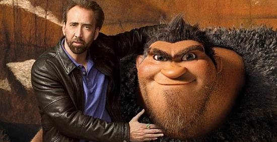 Nicholas Cage Grug The Croods 2013 animatedfilmreviews.filminspector.com