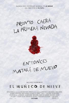 EL MUÑECO DE NIEVE (The Snowman ) - Poster españa