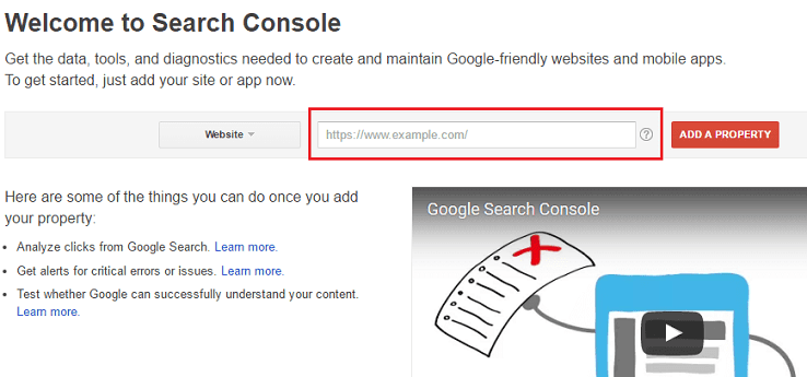Submit your Blog on Google Search Console