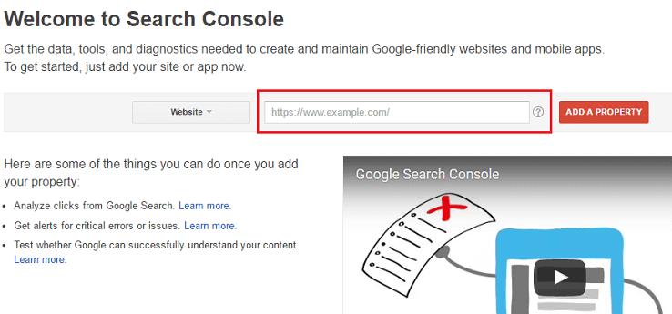 Kirim Blog Anda di Google Search Console