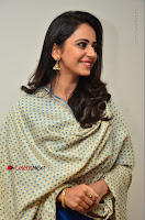 Actress Rakul Preet Singh Stills in Blue Salwar Kameez at Rarandi Veduka Chudam Press Meet  0125.JPG